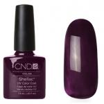 CND Shellac цвет Dark Dahlia 7,3 мл (баклажан эмалевый) №956