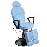 Кресло педикюрное ЭКОНОМ (Голубое)
