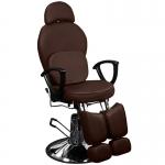 Кресло педикюрное ЭКОНОМ (Коричневое)