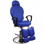 Кресло педикюрное ЭКОНОМ (Синее)