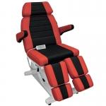 Кресло педикюрное. Гранд (Черно-красное)+стул