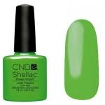 CND Shellac цвет Lush Tropics 7,3 мл (зеленый)№516