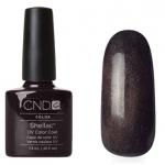 CND Shellac цвет Night Glimmer 7,3 мл(серо-коричневый стальной с микроблестками)