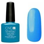 CND Shellac цвет Cerulean Sae 7,3 мл (голубой)№518