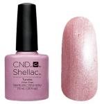 CND Shellac цвет Tundra 7,3 мл (розовый металлик) №873