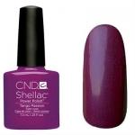 CND Shellac цвет Tango Passion 7,3 мл (сливовый с микроблеском)№517