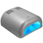 УФ - лампа TUNEL для сушки гелевых покрытий 36Вт с таймером (120 сек) серебро