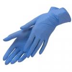 Перчатки нитриловые, голубые, L, 100шт/уп