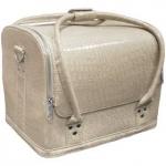 Сумка-чемодан бежевая Crocodile