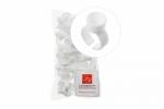 Lash&Brow колечки для пигментов одинарные, большие, одноразовые (50 шт)