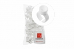 Lash&Brow колечки для пигментов одинарные, большие, одноразовые (100 шт)