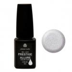 Prestige «Allure» гель лак 8 мл (Белый, с серебряными блестками) №647