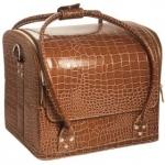 Сумка-чемодан Crocodile коричневая
