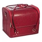 Cумка-чемодан бордовая Crocodile
