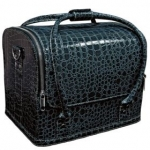 Cумка-чемодан синяя Crocodile