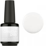 Гель лак CND Creative Play™ Gel Polish цвет I Blanked Out 15 мл (белый) №452