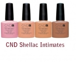 CND Shellac Intimates Collection-Шеллак 4 цвета