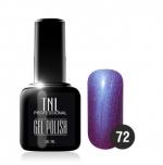 Гель лак TNL 10 мл (Темно-фиолетовый) №72
