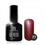 Гель лак TNL 10 мл (Коричнево-малиновый) №77