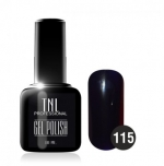 Гель лак TNL 10 мл (Сине-чёрный) №115