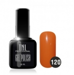 Гель лак TNL 10 мл (Морковно-коричневый) №120
