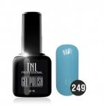 Гель лак TNL 10 мл (Ярко-голубой) №249