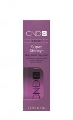 CND Super Shiney 9.8 мл. (сверхтвердое блестящее верхнее покрытие)