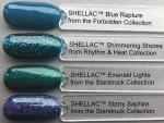 CND Shellac цвет Shimmering Shores, 7,3 мл. (Синий с блестками)